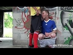 JalifStudio - French twink boys fuck outdoors after sports practice