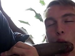 Black Stud Barebacks and Creampies Young Blond Twink