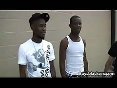 White Twink Suck Black Cock And Get Ass Fucke By Black Gay Dude 01