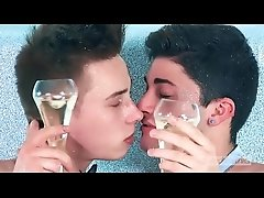 Glitter, Champagne and Sperm for Enzo Lemercier &amp_ Matteo Lavigne