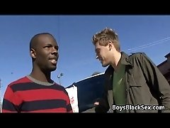 Blacks On Boys - Bareback Black Guy Fuck White Twink Gay Boy 13