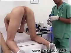Erection at doctors office gay After Dr. Phingerphuck got down with