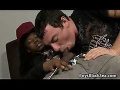 Blacks On Boys - Gay Hardcore Interracial Porn Video 04