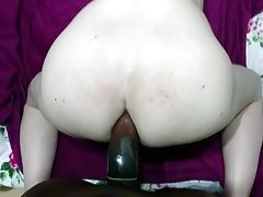White ass fucked by black cock