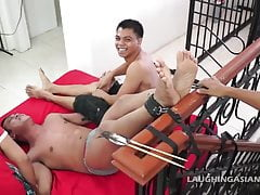 Gay Asian Twink Jack Gets Tickled