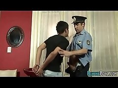Gay cop fucks twinks ass