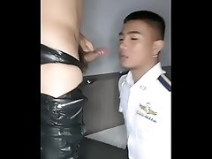 Thai cute boy suck