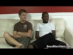 Black Muscled Gay Dude Fuck White Teen Boy Hard 22