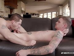 Roman Todd Psyches Himself Up To Make A Move On His Friend