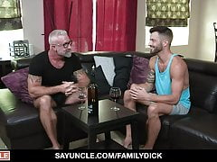 Step Grandson Giving Grandad Gay Sex Experience