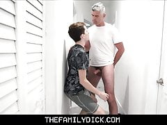 Hot Strict Step Dad Punishes and Pleasures Twink Step Son