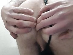 First Anal Tease