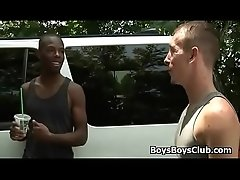 Blacks On Boys - Interracial Hardcore Fuck Video 11