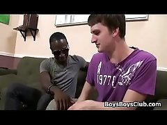 Blacks On Boys - Interracial Hardcore Fuck Video 03