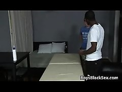 Blacks On Boys - Gay Hardcore Interracial Bareback Sex Video 16