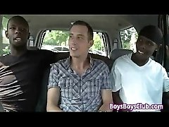Blacks On Boys - White Skinny Gay Boy Fucked By Big Black Cock 27