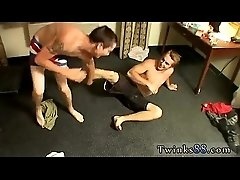 Free gay twink handjob clips pix Kelly &amp_ Grant - Undie Wrestle