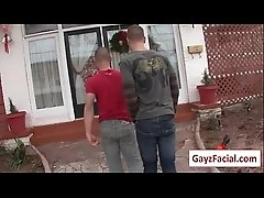 Bukkake Boys - Gay Hardcore Sex from wwwGayzFacial.com 10