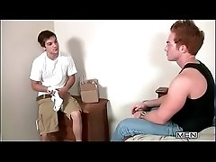 Bareback Raw Breeding A Young College Twink 11
