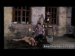 gay sex video lady boy Chained to the warehouse floor and