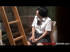Japanese teen has anal