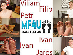 Male Foot Models Compilation - January 2019 p1