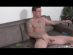 Recruit Anthony Banks Plays With His Dick