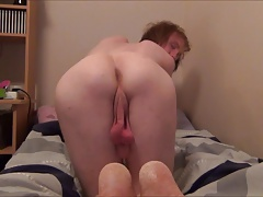 Horny twink want daddys dick up the ass
