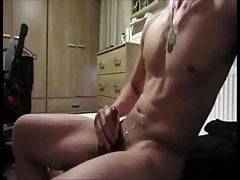 Guys love to show off how to jerk off and cum!