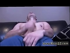 Straight men having anal gay sex Steve has never stroked off in front