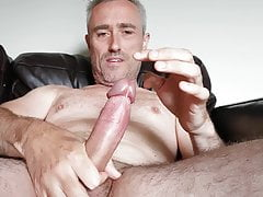 Wanking and edging my rock hard penis