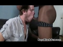 Blacks On Boys - Gay Hardcore Interracial Bareback Fuck 21