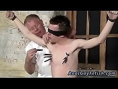 Gay black bondage first time With his mushy nut tugged and his shaft