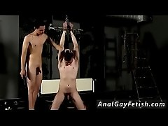 Young boys nude bondage gallery gay Flogged And Face Fucked