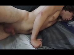 Horny Straight Boy first Time with daddy!!!