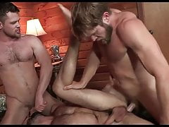 Hot 3some guys