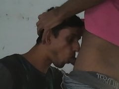 Desi twink sucking,deep throating
