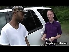 Blacks On Boys - Gay Black Dude Fuck WHite Teen Boy Hard 26