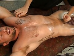 Tommy Hunter loves playing with his HUGE dick