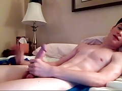 Hottie Wank his Big Cock