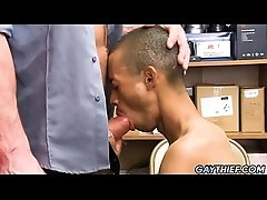 Black Twink Caught Stealing And Gets Fucked