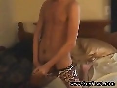 Cute gay twink bondage anal He almost completed up with an