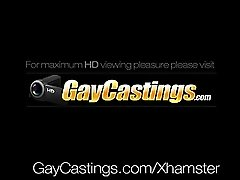 HD - GayCastings Casting agent fucks slim young guy