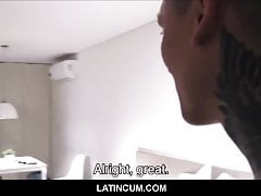 Straight Amateur Young Latino Boy Paid Cash For Gay Orgy