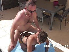 the french slut PSYNOX fucked bareback and creampied by DADY