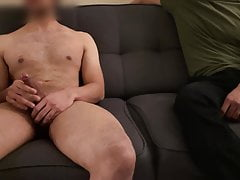 Naked Stroking for Clothed Version of Myself