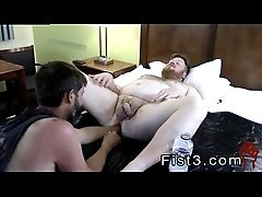Black guy fists gay twink tumblr Sky Works Brock&#039_s Hole with his Fist