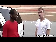 Blacks On Buys - Nasty Gay Skinny Boy Fucked By Muscular Black Dude 13