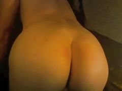 femboy twink showing off tight ass on webcam